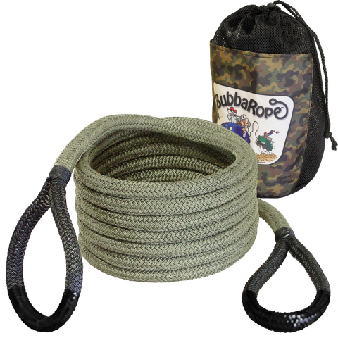 Bubba Rope Renegade - 3/4 in Vehicle Recovery Rope - Gatorized 20 ft