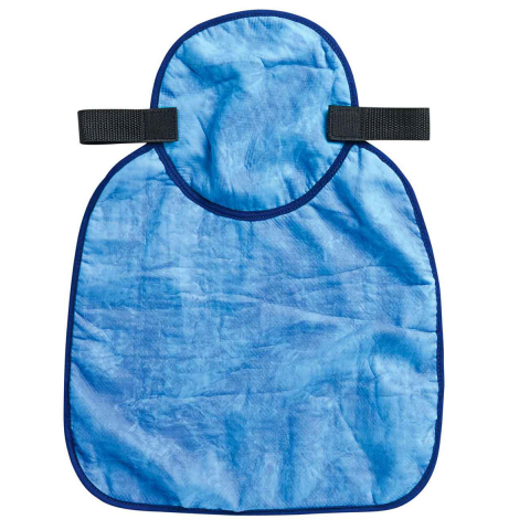 Ergodyne Chill-Its 6717CT Evap Cooling Hard Hat Neck Shade w/Cooling Towel