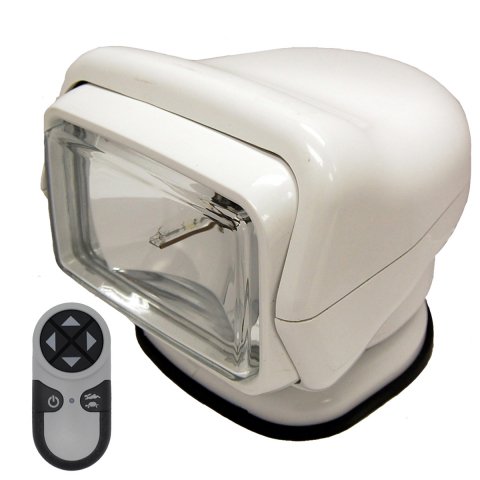 GoLight Stryker H.I.D. with Wireless Remote - Standard Mount, White
