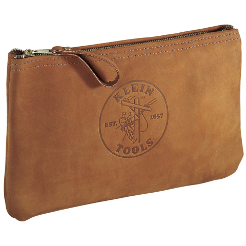 Klein Leather Accessory Bag