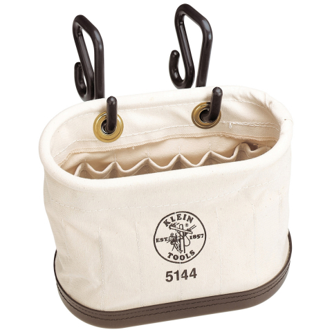 Klein Oval Bucket with 15 Pockets and Hooks