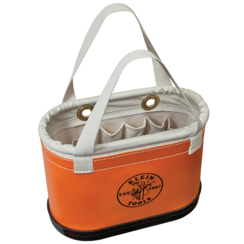Klein® Hard Body Oval Buckets - Handles and 15 Pockets