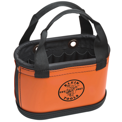 Klein® Hard Body Oval Buckets - Handles and Knife Sheath and 14 pockets
