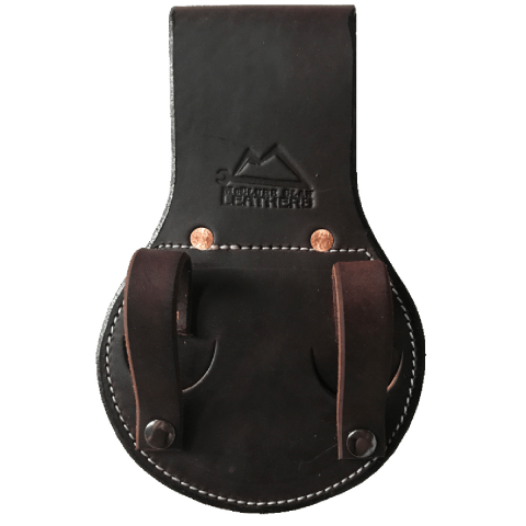 McClure Clan Leathers® The Diablo Lockdown Spud Wrench Holder