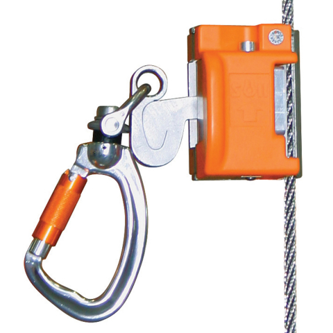 Miller Vi-Go Automatic Pass-Through Cable Sleeve with Swivel Carabiner
