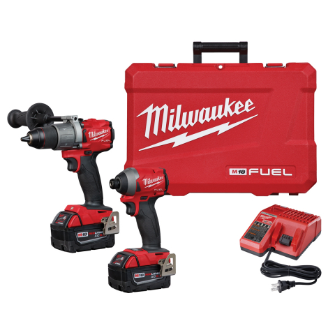 Milwaukee® M18 FUEL LITHIUM-ION 2-Tool Kit With Hammer Drill and Impact Driver