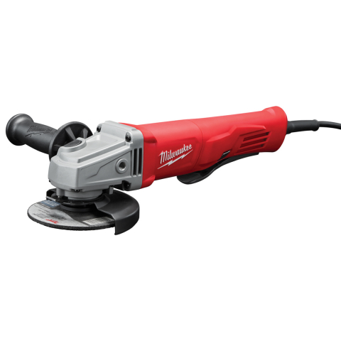 Milwaukee® 11 Amp Corded 4-1/2 in Small Angle Grinder Paddle Lock-On
