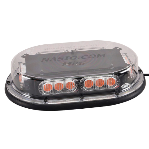 North American Signal Company™ Light Bar -Clear - Magnetic Mount