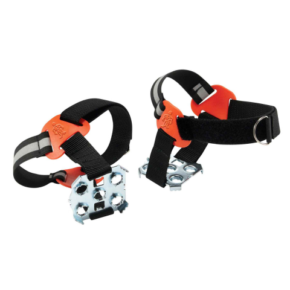 Ergodyne® Trex™ 6315 Strap-On Heel Ice Traction Device - Black