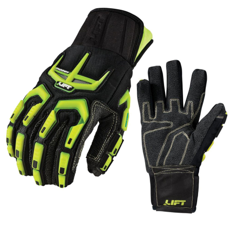 LIFT Safety™ RIGGER Winter Impact Glove -Superior Abbrasion Kevlar w/Thinsulate