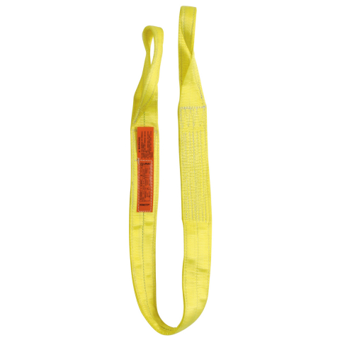 """Lift-All Polyester 4"""" Web Slings - Eye to Eye Two Ply - Vertical Capacity 11500 lbs"""