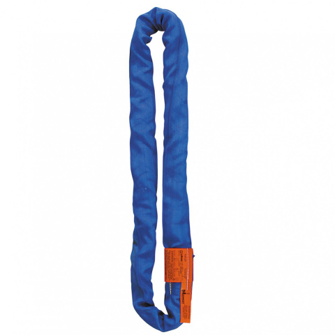 Lift-All® Tuflex Polyester Round Slings - Blue - Vertical Capacity 21200 lbs