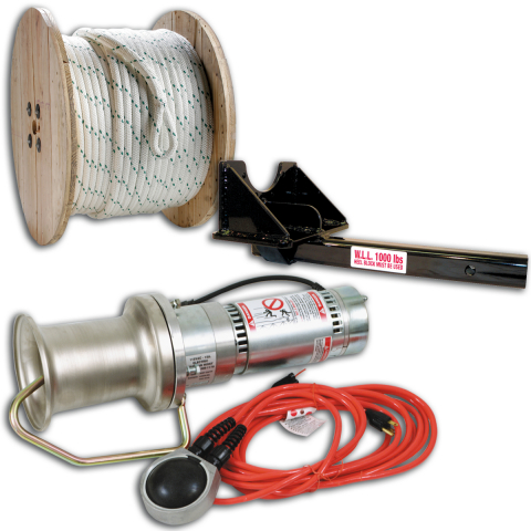 Midwest Unlimited Basic Capstan Package w/Straight Mount