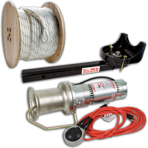 Midwest Unlimited Basic Capstan Package w/Swivel Mount
