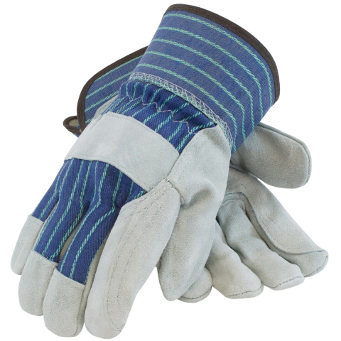 PIP® Double Palm Leather Gloves