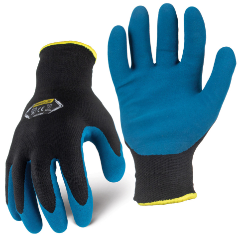 IronClad® Insulated Cut Level A2 Latex Palm/15 Gauge Nylon Knit Glove