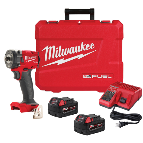 Milwaukee® M18 FUEL™ 3/8 Compact Impact Wrench w/ Friction Ring Kit
