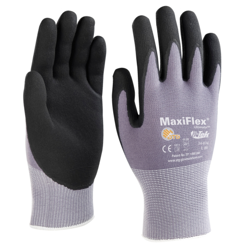 PIP MaxiFlex Ultimate Nitrile Coated Glove - Touchscreen Compatible